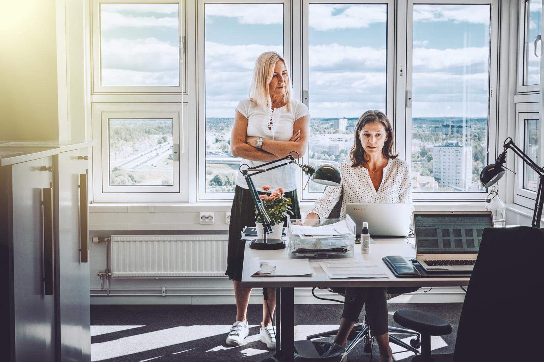 kontorshotell, kontorsplats, coworking, konferens, Nacka